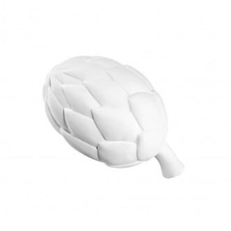 Artichaut céramique blanche grand modèle