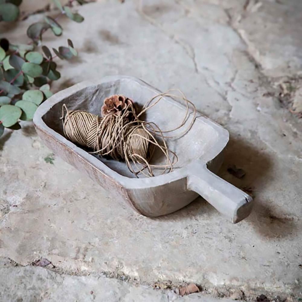 Vide-poche en bois de paulownia Garden trading