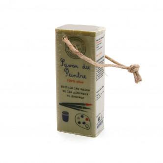 Savon du peintre pur olive 100% végétal, Mas du Roseau
