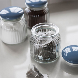 Bocaux de conservation vintage, style campagnard, en verre