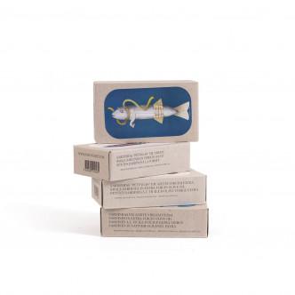 Filet de Maquereau à l'huile d'olive et boîtes de sardines gourmet