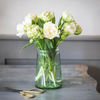Vase en verre recyclé Garden Trading