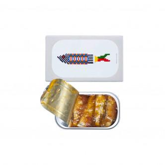 Conserve de petites sardines à la tomate