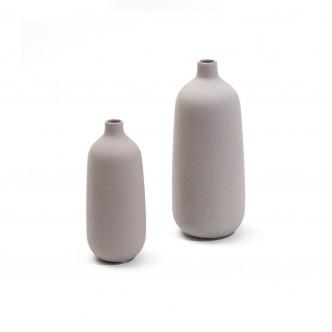Vases petit et moyen modèles couleur gris ciment