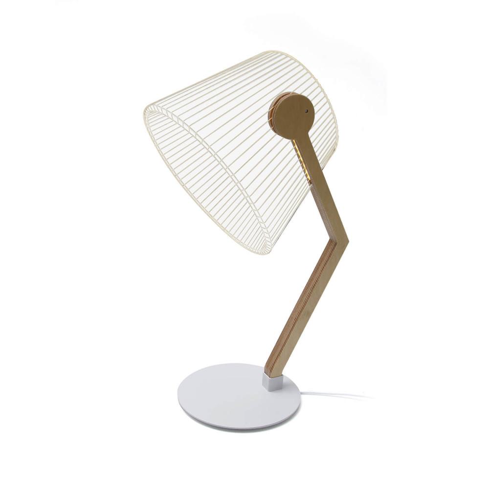 Lampe à led effet 3D Ziggi par Cheha