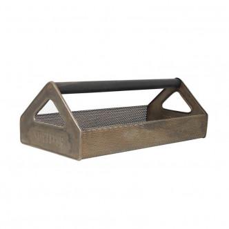 Plateau en métal vieilli, boîte à outils Storebror