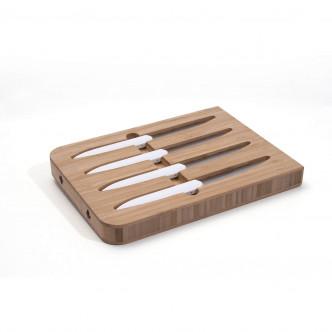 Superbes couteaux créés par Roland Lannier, maître coutelier à Thiers